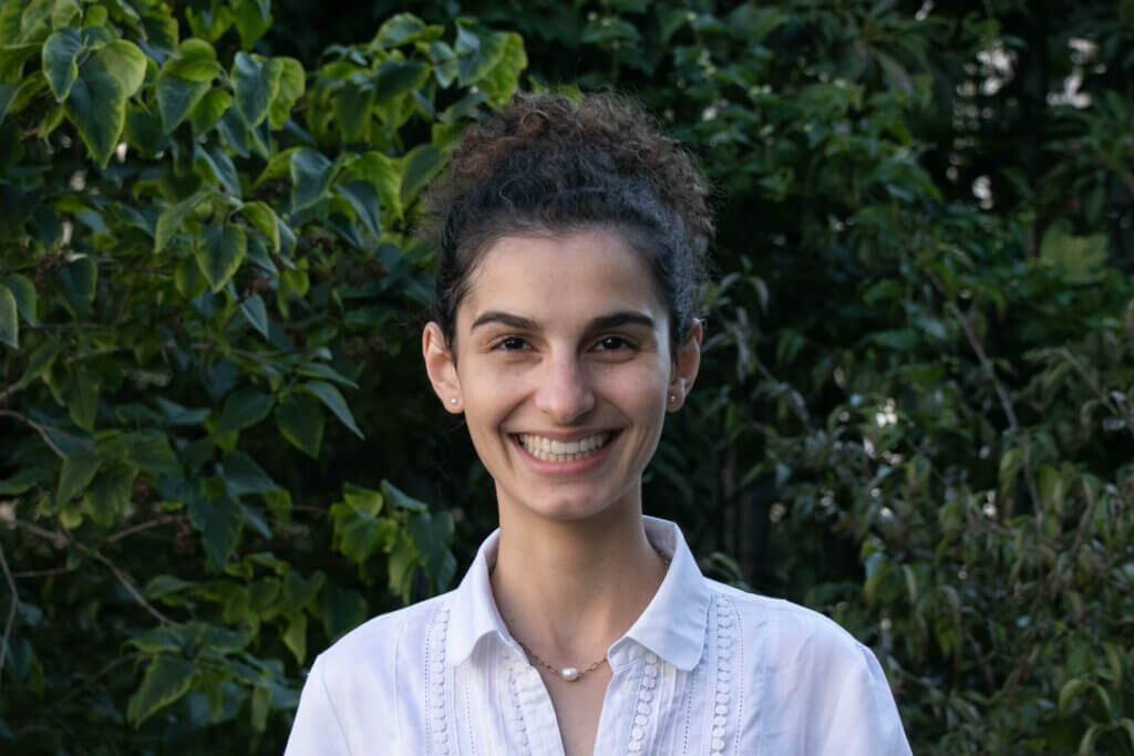 Profile photo of ETH Zurich master's student Kenza Amara, developing new usages of AI for the environment